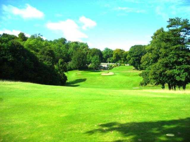 Scenic view of the 9th hole at Whiteleaf Golf Club