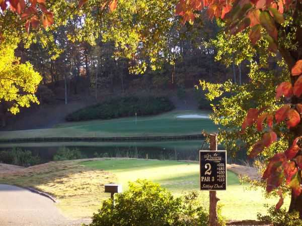 A view of tee #2 from The Preserve at Verdae