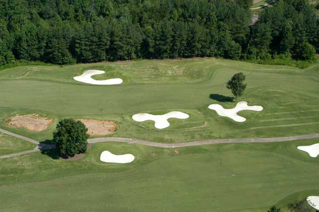 Aerial view from Cherokee Valley Course and Club.