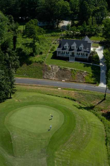 A view of the clubhouse at Cherokee Valley Course and Club.