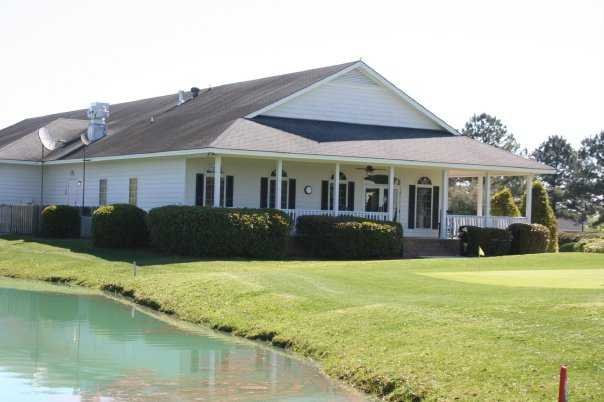 A view of the clubhouse at Black Creek Golf Club
