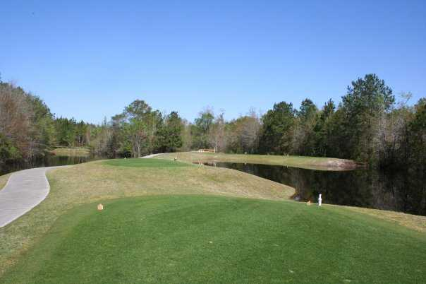 A view from tee at Black Creek Golf Club