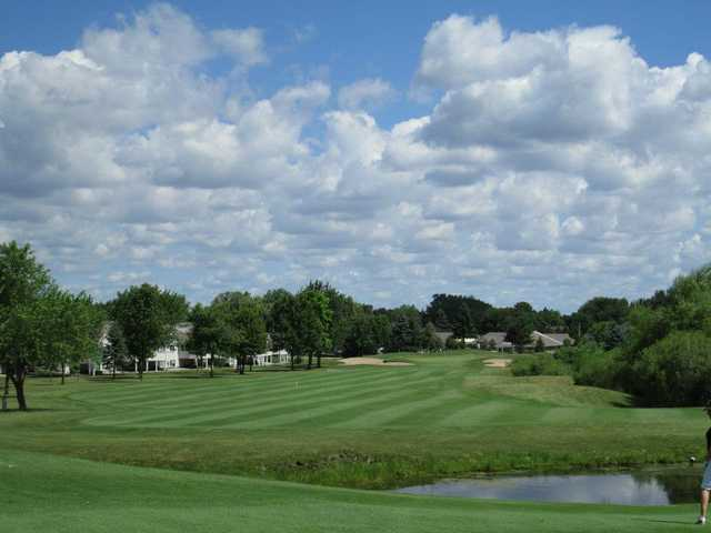 A view of the 12th fairway at Gleneagle Golf Club
