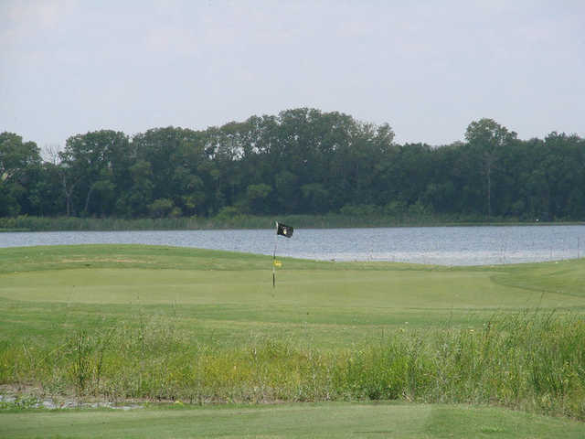 A view of hole #8 at Cleburne Golf Links