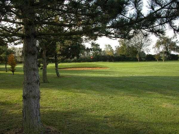 A view of the 10th hole at Ramsey Golf & Bowls Club