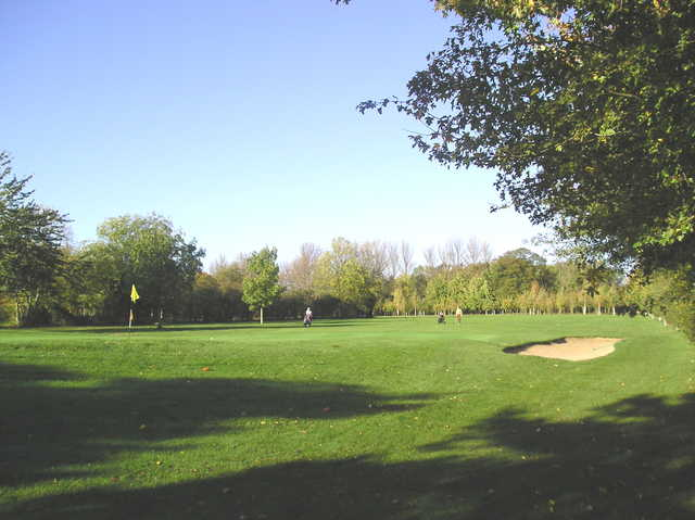 A view of the 6th hole at St Neots Golf Club