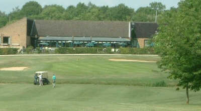 A view of green at Thorpe Wood Golf Course