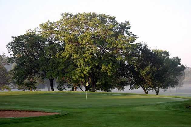 A view of a hole at Hartford Golf Club