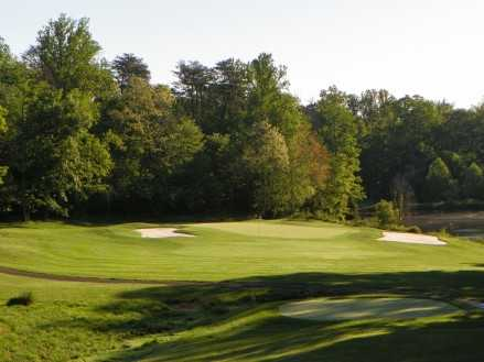 A view from tee #15 at Pohick Bay Golf Course