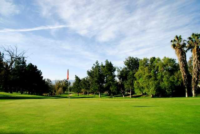 A view of hole #10 at Jurupa Hills Country Club