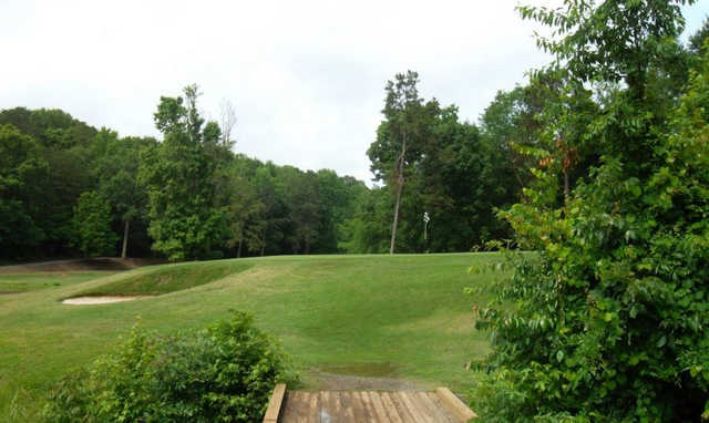 A view of the 8th hole at Cove from Tega Cay Golf Club