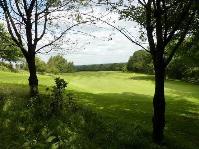 A view of green #12 at Alsager Golf & Country Club