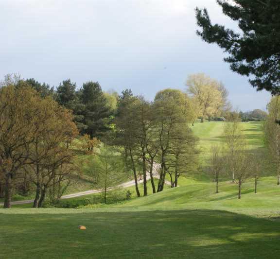 A view from tee at Astbury Golf Club