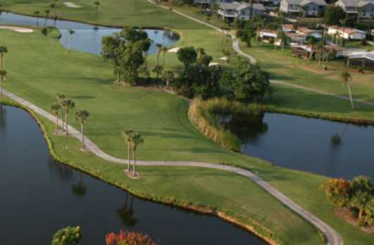 Aerial view from Heritage Ridge Golf Club