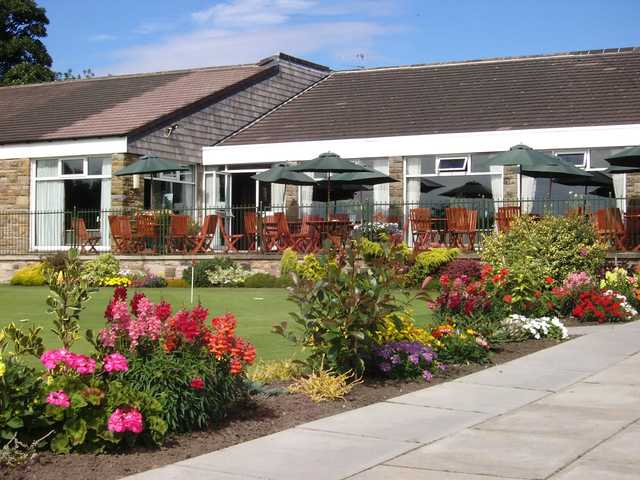 A view of the clubhouse at Davenport Golf Club