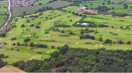 Aerial view of Eaton Golf Club