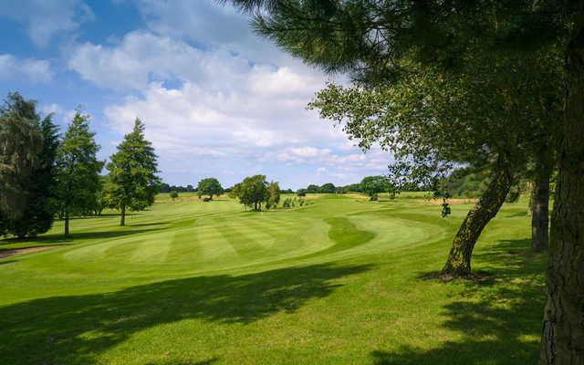 A view of the 3rd green at Frodsham Golf Club