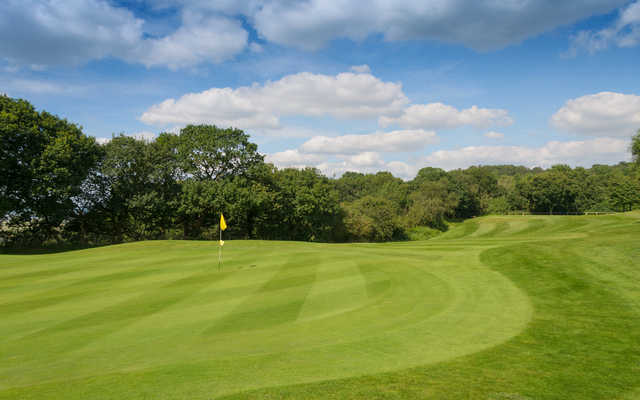A view of hole #9 at Frodsham Golf Club