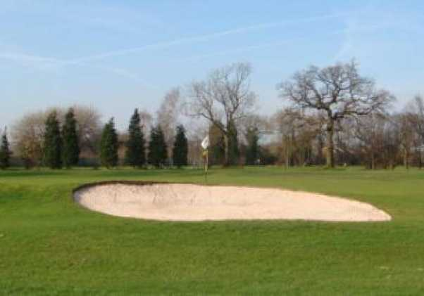 A view of the 3rd green at Gatley Golf Club