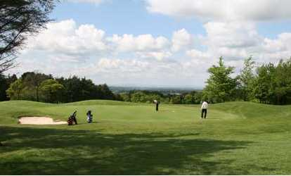 A view of green at Macclesfield Golf Club