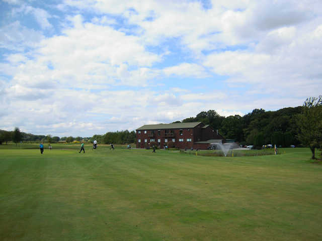 A view of the clubhouse at Mersey Valley Golf & Country Club