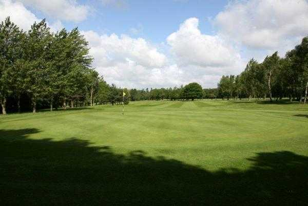 A view of green #10 at Runcorn Golf Club