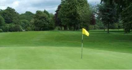 A view of hole #9 at Shirehampton Golf Club
