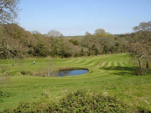 A view of fairway at Killiow Golf Course