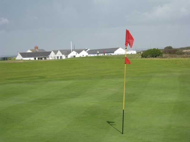 A view of the 2nd hole at Mullion Golf Club