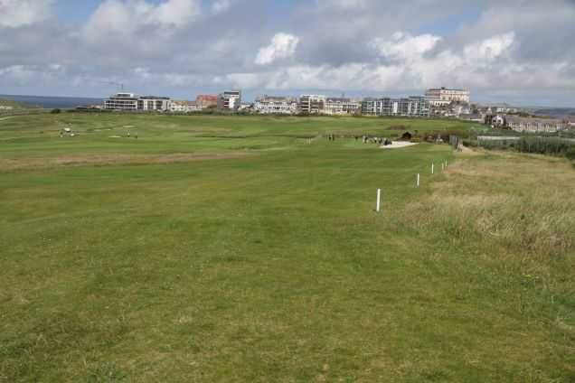 A view from Newquay Golf Club