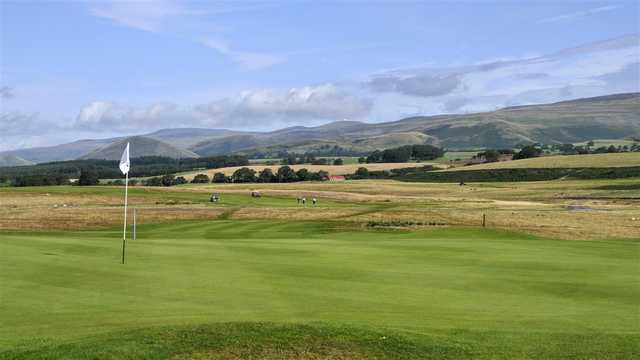 A view of green at Appleby Golf Club