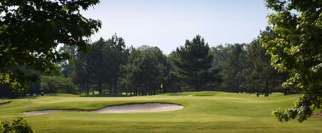 A view from the Hooch Golf Club