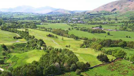 Aerial view from Keswick Golf Club