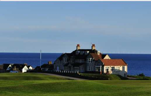 A view of the clubhouse at Seascale Golf Club