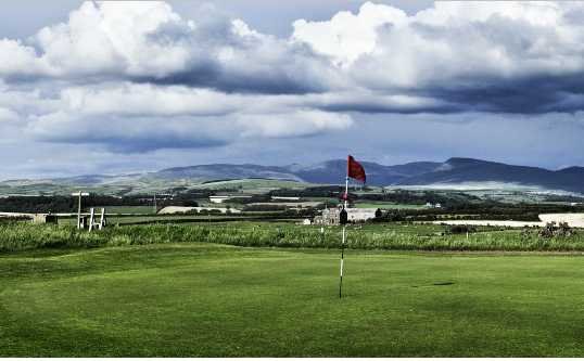 A view of hole #2 at Seascale Golf Club