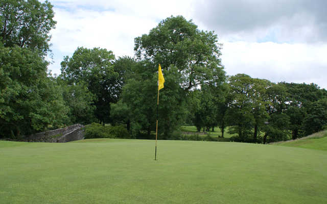 A view of hole #2 at Sedbergh Golf Club