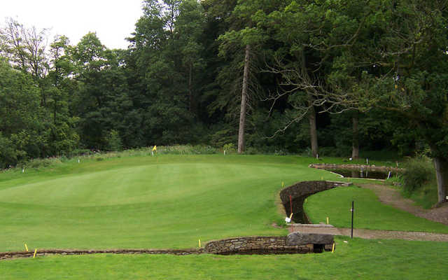 A view of the 5th green at Sedbergh Golf Club