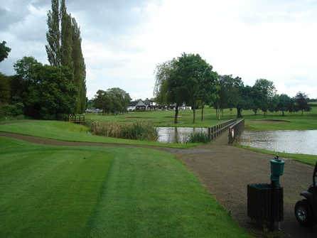 A view from Allestree Park Golf Club
