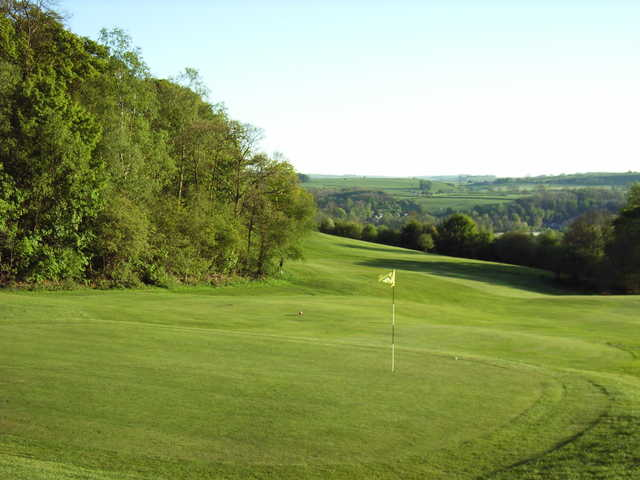 A view of hole #3 at Bakewell Golf Club