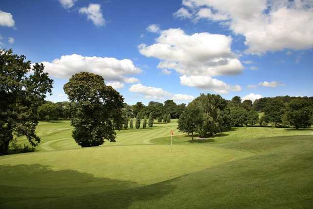 A view of hole #13 at Priory Course from Breadsall Priory Golf & Country Club