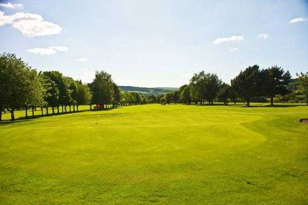 A view of the 16th green at Chapel-en-le-Frith Golf Club
