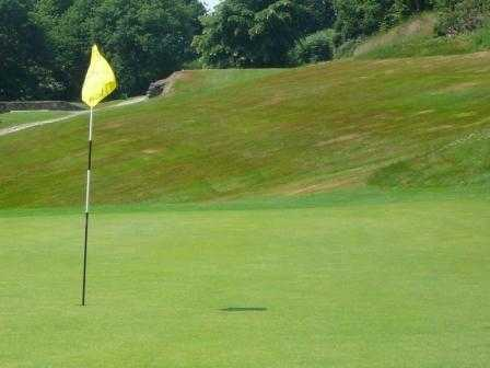 A view of hole #14 at Chevin Golf Club