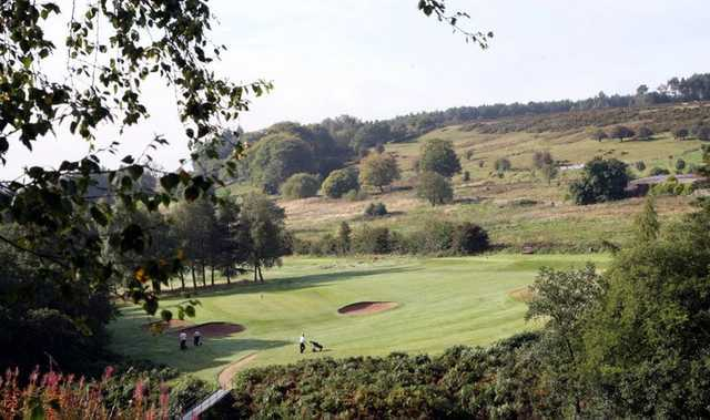A view of hole #10 at Matlock Golf Club