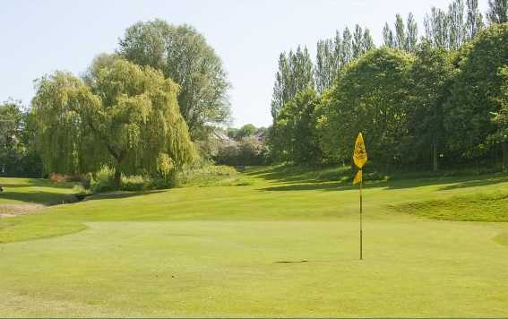 A view of hole #6 at Mickleover Golf Club