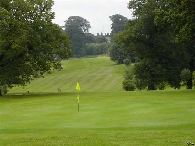 A view of hole #3 at Renishaw Park Golf Club