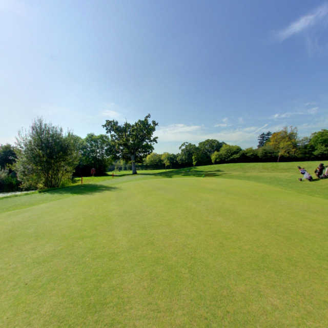 A view from Bovey Tracey Golf Club