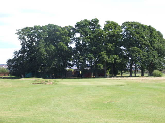A view of green at Oak Meadow Golf Club