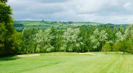 A view from fairway at Tiverton Golf Club