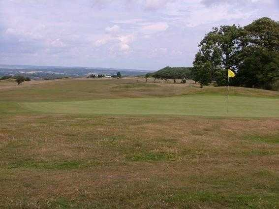 A view of hole #14 at Came Down Golf Club