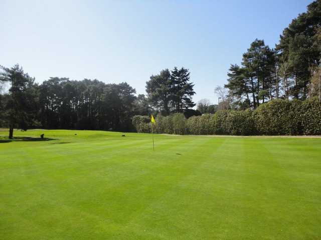 A view of the 3rd hole at Old Course from Ferndown Golf Club